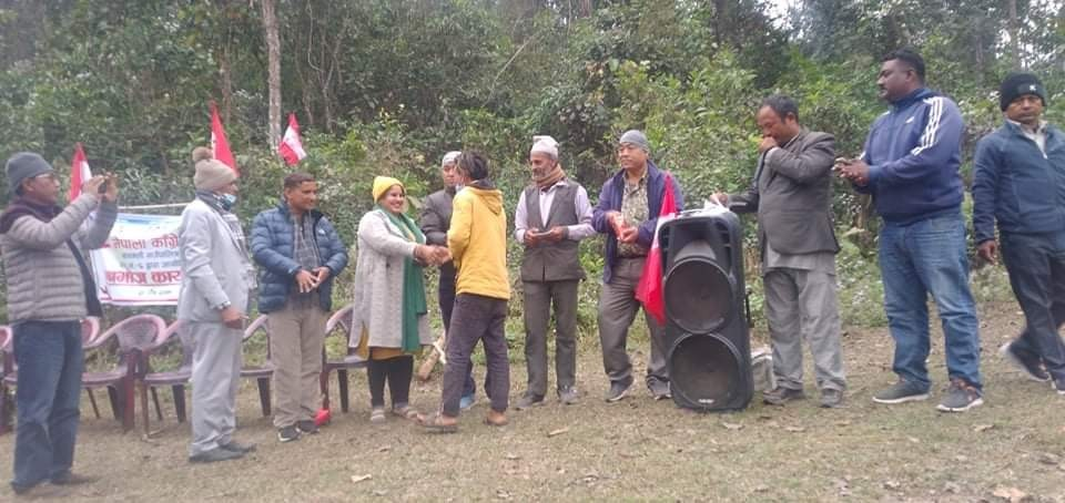 विभिन्न पार्टी परित्याग गरि बाग्मती गाउँपालिकाका २३ कार्यकर्ता काँग्रेसमा प्रबेश