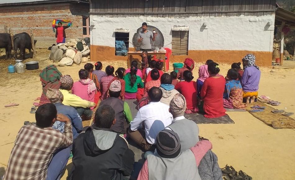 गढि गाउँपालिका २ मा दुईदिने बाख्रा पालन तालिम