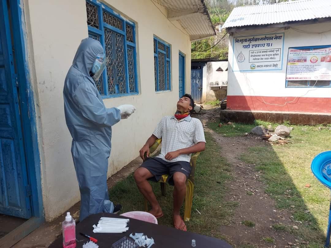 कैलाशमा कोरोना संक्रमित उकालो लाग्दै,उपाध्यक्ष सहित ३५ जनामा संक्रमण