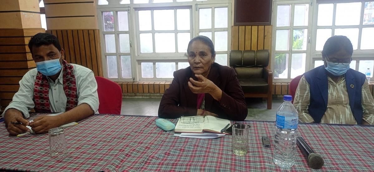 प्रदेश सरकारले दलितहरुको उत्थानको लागि विभिन्न कार्यक्रमहरु ल्याएको छौँ : मन्त्री सरस्वती वस्नेत