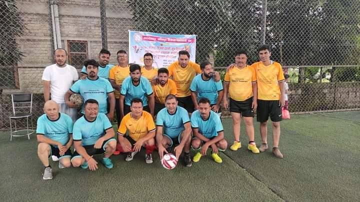 मकवानपुर विक्रेता व्यवसायी संघद्धारा मैत्रीपुर्ण फुटसल प्रतियोगिता